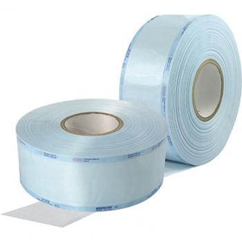 Рулон для стерилизации Medicom со складкой, 350 мм х 100 м