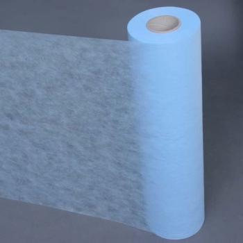 Простынь одноразовая comfort  голубая 0,8 х 100  п. м
