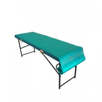 Простынь одноразовая comfort  зеленая 0,8 х 500 п. м | Venko