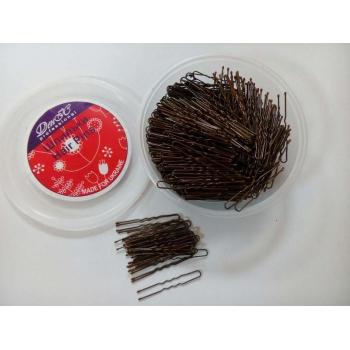 Шпильки для волос коричневые 650 шт/5см | Venko