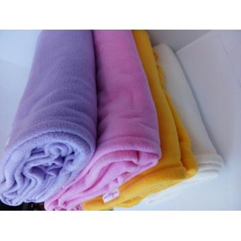 Одеяло - плед (махра-флис) 1,6-2 м, малиновый | Venko