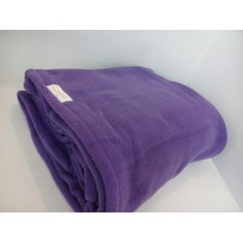 Одеяло - плед (махра-флис) 1,6-2 м, фиолетовый | Venko