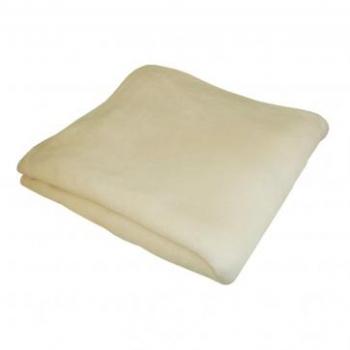 Одеяло - плед (махра-флис) 1,6-2 м бежевый