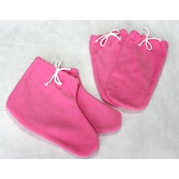 Набор (одеяло+варежки+носочки) розовый | Venko