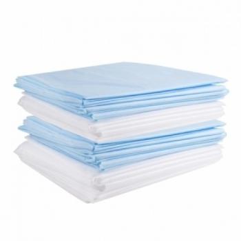 Простыни одноразовые белые 1,6 х 2 м  100 шт | Venko