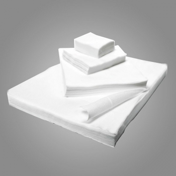 Салфетки спанлейс гладкие 20х20см   100 шт