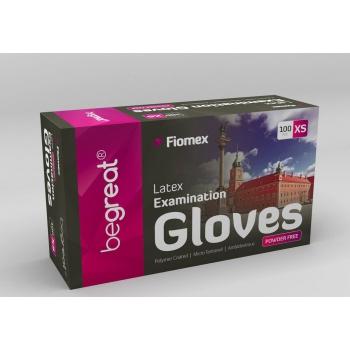 Перчатки латексные неопудренные S, 100 шт/уп premium | Venko