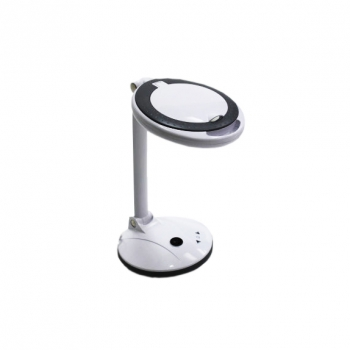 Лампа лупа 2028-F LED настольная (3 +12 диоптрий) с регулировкой яркости цвет: белый | Venko
