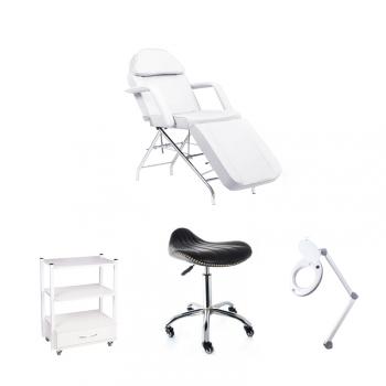 Рабочее место косметолога White - комплект мебели | Venko