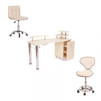 Рабочее место мастера маникюра Spa  - комплект мебели | Venko
