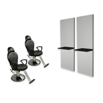 Рабочее место визажиста Silver- комплект мебели | Venko