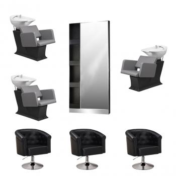Рабочее место парикмахера Diplomat - комплект мебели | Venko
