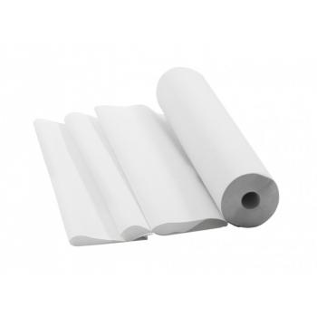 Простыни одноразовые бумажные перфорированные 0,60x50 м, белые (Италия)