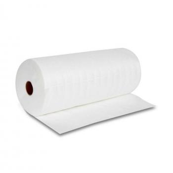 Полотенце из спанлейса с перфорацией 35см х 70см, белые, 100 шт в рулоне | Venko