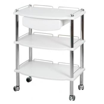 Ящик для стола ST2, ST3 (белый, серебристый) | Venko