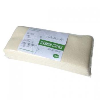 Тканевые полоски, Silk&Soft 100 шт