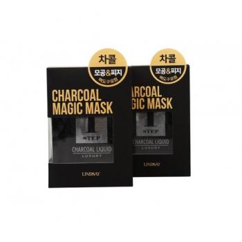 Угольная маска для лица пластифицирующая, очищающая (ДЕТОКС), 5*80 г | Venko
