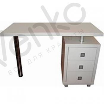 Маникюрный стол с вытяжкой 003 L Белый | Venko