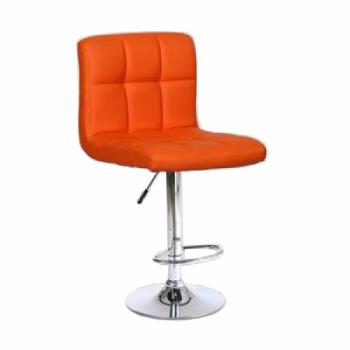 Стул барный хокер HC-8052-1 оранжевый | Venko