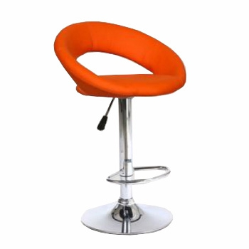 Стул барный хокер HC-104C оранжевый | Venko