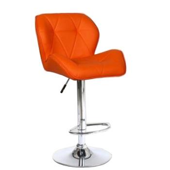 Стул барный хокер HC-111W оранжевый | Venko