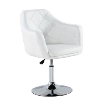 Парикмахерское кресло HC831 белое | Venko