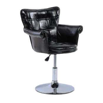 Парикмахерское кресло HC804B черное | Venko