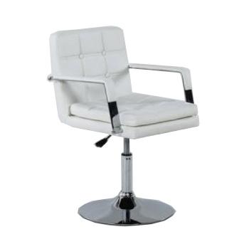 Парикмахерское кресло HC730 белое | Venko