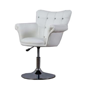 Парикмахерское кресло HC804C белое | Venko