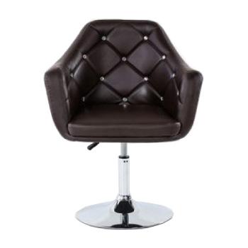 Парикмахерское кресло HC830 шоколадное | Venko