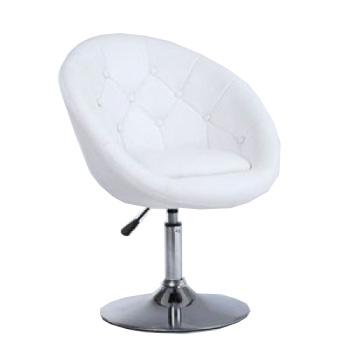 Парикмахерское кресло HC-8516 белое | Venko
