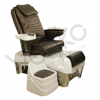 Педикюрное SPA-кресло с гидромассажем 904 Коричневое | Venko