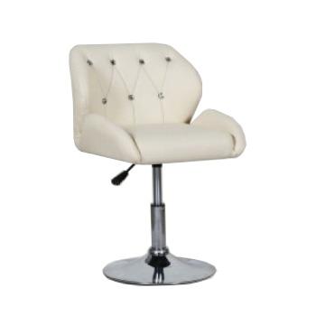 Кресло косметическое HC949N кремовое   Venko