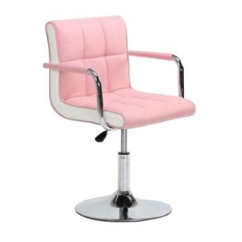Кресло косметическое HC-811N розовое   Venko