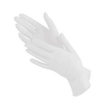 Виниловые перчатки неопудренные S Polix PRO & MED, 100 шт | Venko