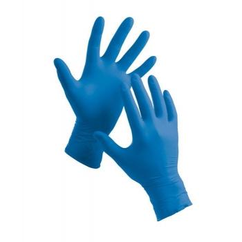 Перчатки нитриловые чувствительные XL Polix PRO & MED, 100 шт | Venko