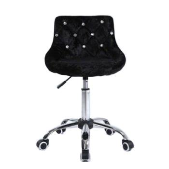 Косметическое кресло HC931K черный велюр | Venko