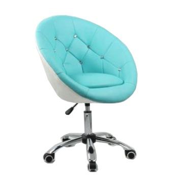 Косметическое кресло HC-8516K бирюзово-белое | Venko