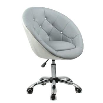 Косметическое кресло HC-8516K серо-белое | Venko