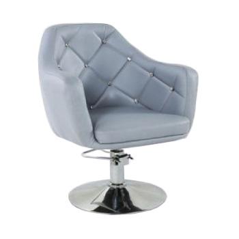 Кресло парикмахерское HC830H серое ГИДРАВЛИКА | Venko