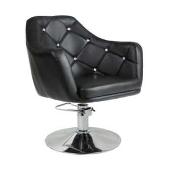 Кресло парикмахерское HC830H черное ГИДРАВЛИКА | Venko