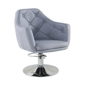 Кресло парикмахерское HC831H серое ГИДРАВЛИКА | Venko