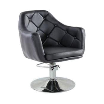 Кресло парикмахерское HC831H черное ГИДРАВЛИКА | Venko