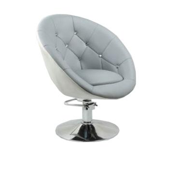Кресло парикмахерское HC-8516H серо-белое | Venko