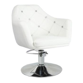 Кресло парикмахерское HC830H белое ГИДРАВЛИКА | Venko