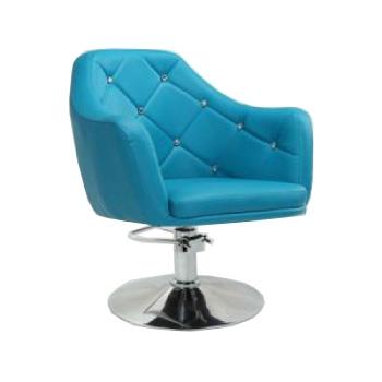 Кресло парикмахерское HC830H бирюзовое ГИДРАВЛИКА | Venko