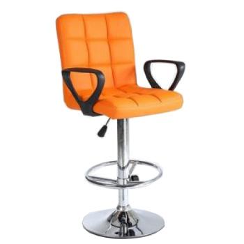 Стул барный хокер HC855B оранжевый | Venko