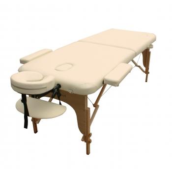 Масажний стіл складний ArtOfChoise Mia (Світло-бежевий) | Venko