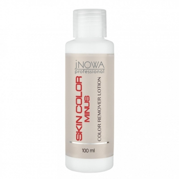 Лосьон для удаления краски с кожи jNOWA Professional Skin Color Minus, 100 мл | Venko
