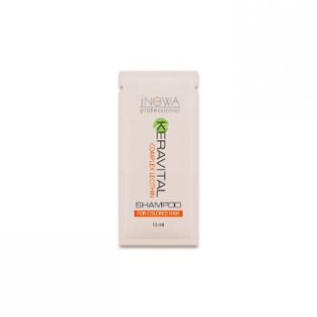 Шампунь для окрашенных  волос  jNOWA Professional KERAVITAL, 15 мл | Venko